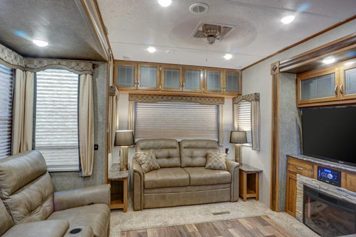 Residence Destination Trailer Interior
